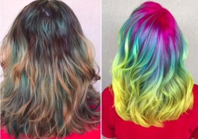 Glow in the Dark Mermaid Hair!