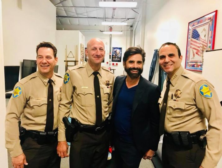 ChildHelp Christmas Pageant 2017: Sheriff and John Stamos