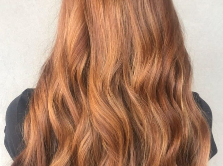 Enhanced natural redhead – by Jenny