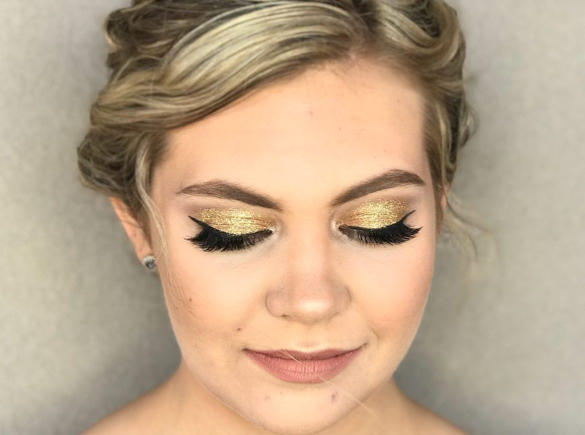 Prom makeup – by Lela