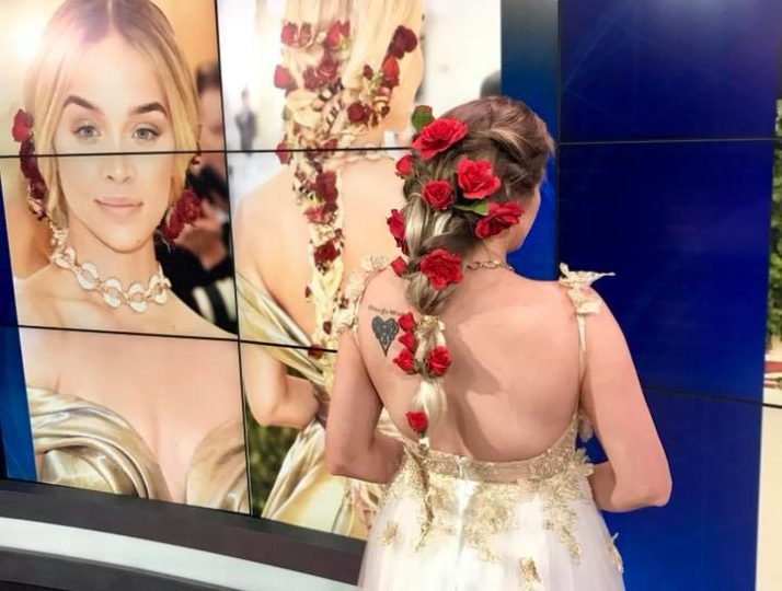Fox 10 Phoenix – Met Ball recreation, Jasmine Sanders