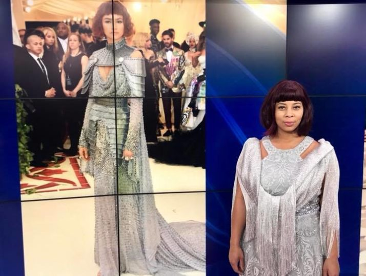 Fox 10 Phoenix – Met Ball recreation, Zendaya