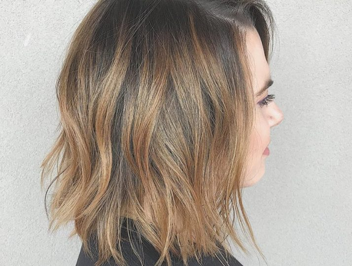 Balayage with lived-in waves – by Jenny