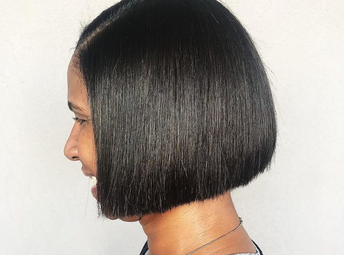 Precision bob haircut